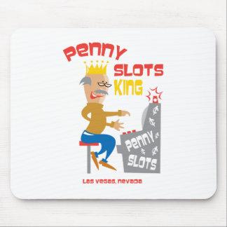 Penny Slots King - Las Vegas Nevada Mousepad