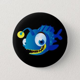 Penny The Piranha 6 Cm Round Badge