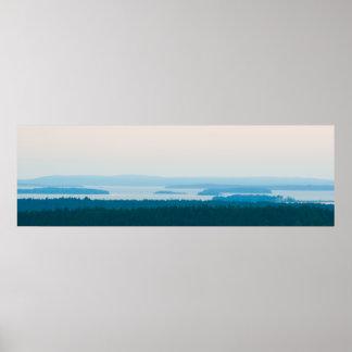 Penobscot Bay, Maine Poster