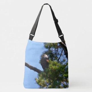 Penobscot River Bald Eagle Crossbody Bag