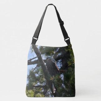 Penobscot River Bald Eagle II Crossbody Bag