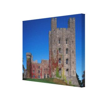 Penrhyn Castle, Gwynedd, Wales 2 Gallery Wrap Canvas