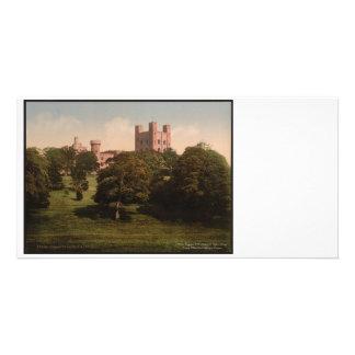 Penrhyn Castle Wales Vintage Photo Card