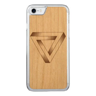 Penrose Triangle Phonecase Carved iPhone 8/7 Case