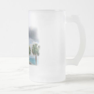 Pensacola Bay Frosted Glass Mug