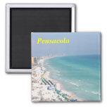 pensacola beach refrigerator magnet