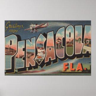 Pensacola, Florida (Airplanes) Poster