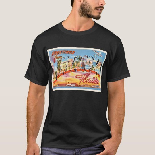 Pensacola Florida FL Old Vintage Travel Souvenir T-Shirt