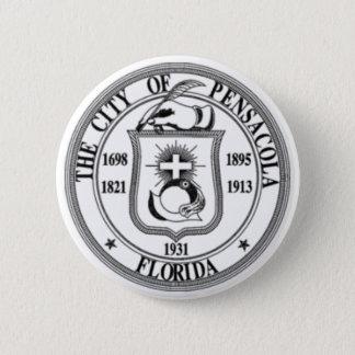 Pensacola Seal 6 Cm Round Badge
