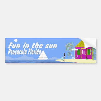 Pensacolabywebbie Car Bumper Sticker