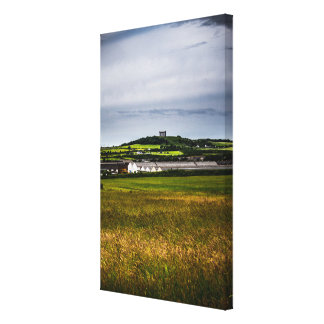 Penshaw Monument Gallery Wrapped Canvas