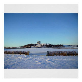 Penshaw Monument In Winter Print