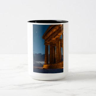 Penshaw Monument Two-Tone Coffee Mug