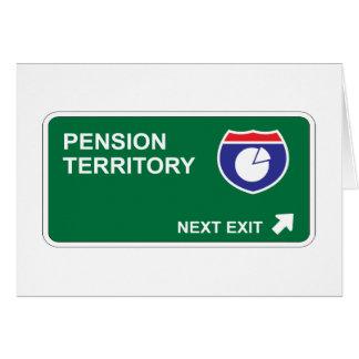 Pension Next Exit Card