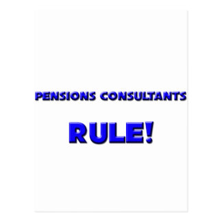 Pensions Consultants Rule! Postcard