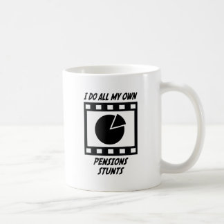 Pensions Stunts Basic White Mug
