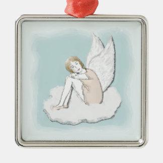Pensive Angel Ornament
