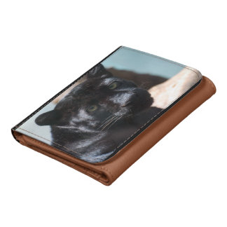 Pensive Black Panther Wallets