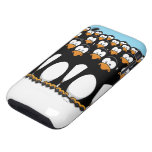 Pensive Penguin Army iPhone 3 Tough Cases