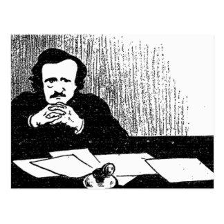 Pensive Poe Postcards