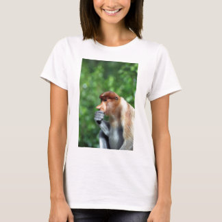 Pensive proboscis monkey T-Shirt