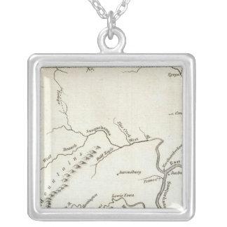 Pensylvania 2 silver plated necklace