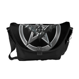 Pentacle Bat Commuter Bags