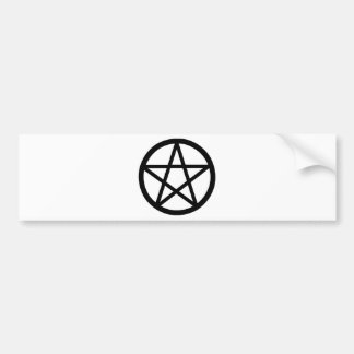 Pentacle Bumper Sticker