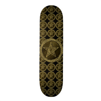 Pentacle Celtic Circle - gold/copilot by version Skateboards