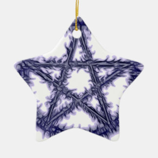 Pentacle of Water Christmas Ornament