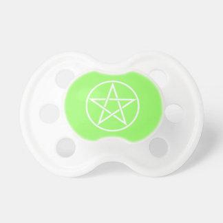 Pentacle Pentagram Pagan Wiccan Baby Pacifier