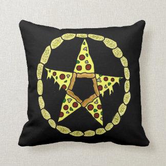 Pentacle Pizza Cushion