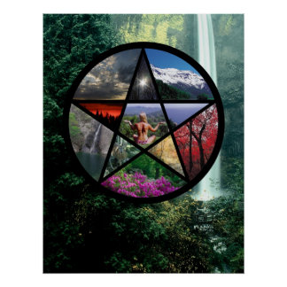 Pentacle Poster Small