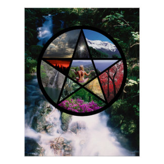 Pentacle poster Small stream