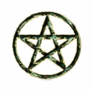 Pentacle Sculpted Acrylic Products Photo Sculpture Badge