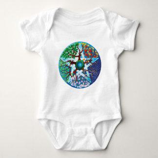 pentacle-seasons baby bodysuit