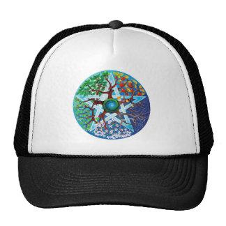 pentacle-seasons hat