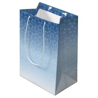 Pentacle Snow Field pattern Medium Gift Bag