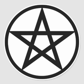 Pentacle stickers