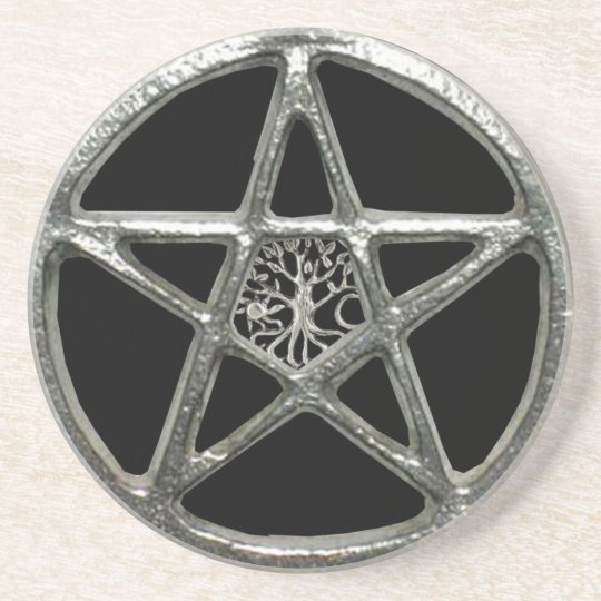 Pentacle Tree Of Life Coaster