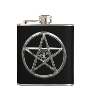 Pentacle Tree Of Life Flask
