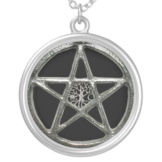 Pentacle Tree Of Life Necklace