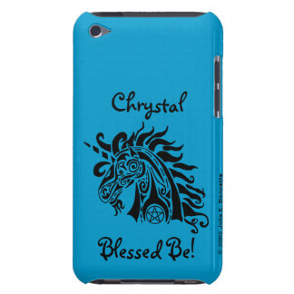 Pentacle Unicorn (black) iPod Touch Casemate Case