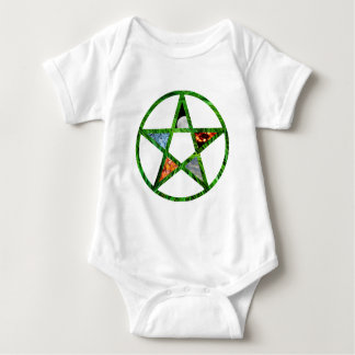 Pentacle with Elements Baby Bodysuit