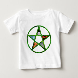 Pentacle with Elements Baby T-Shirt