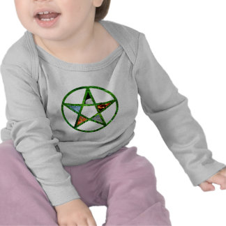 Pentacle with Elements Tee Shirts