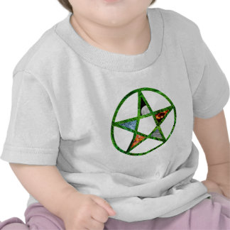 Pentacle with Elements Tshirts