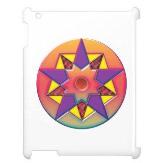 Pentagon Crop Circle iPad Case