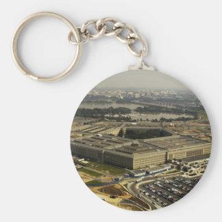 Pentagon Key Ring