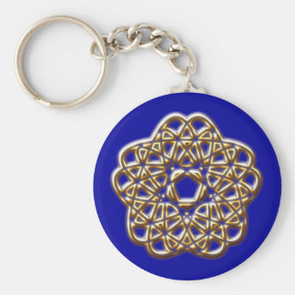 Pentagon loops Pentagon loop Basic Round Button Key Ring